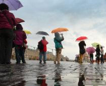 Очередное похолодание ждет москвичей к пятнице