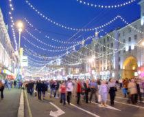 Москву к 872-летию украсят флаги, плакаты, цветы и праздничная подсветка