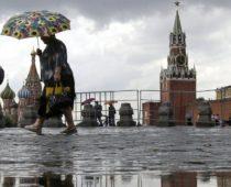 Четверть месячной нормы осадков выпадет в Москве в ближайшие сутки