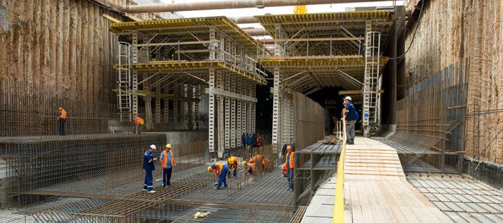 В Москве с начала года построили почти 20 км тоннелей метро и восемь станций