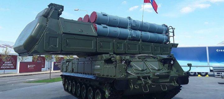 ЗРК «Бук-М3» прикрыл Каспийскую флотилию от условного ракетного удара