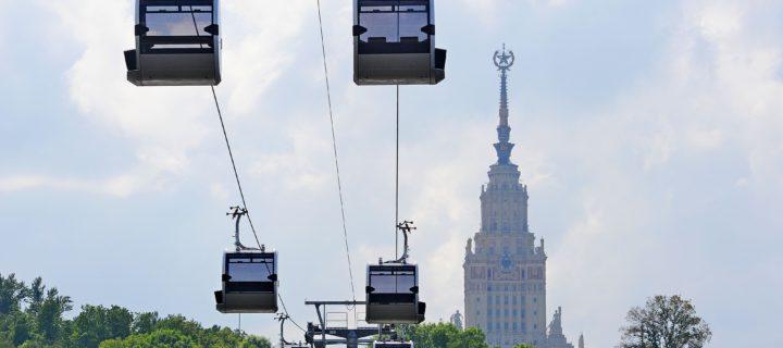 Еще три канатные дороги могут появиться в Москве