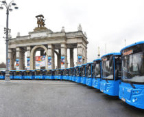Москва закупит 839 пассажирских автобусов на 12 млрд рублей