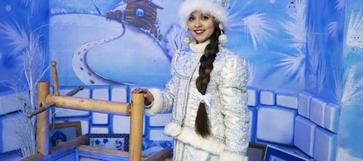 Снегурочка объявила в Костроме конкурс новогодних масок