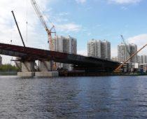 В Москве реконструируют набережную затона Новинки
