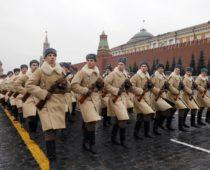В марше 7 ноября на Красной площади  примет участие около 4 тыс. человек