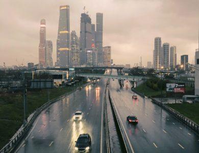 Более 20% месячной нормы осадков выпало в Москве за сутки