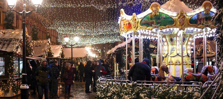 Рождественский уличный фестиваль пройдет в Москве с 13 декабря по 12 января