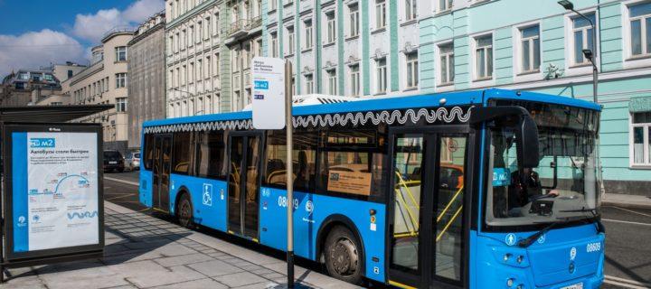 Более 100 автобусов запустят по новым маршрутам в Москве