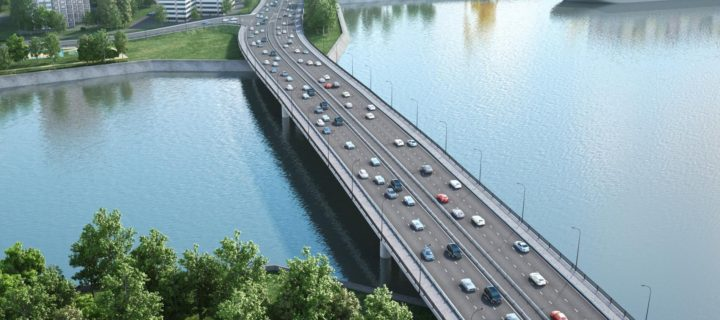 За три года в Москве построят 24 моста