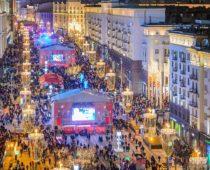 Центр Москвы станет пешеходным на новогодние праздники