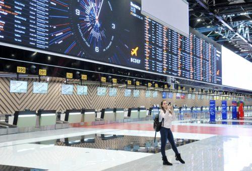 В аэропорту «Шереметьево» открылся новый международный терминал