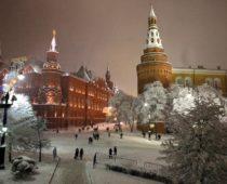Ночь на воскресенье стала самой морозной за зиму в Москве