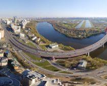 Четыре моста построят в Мневниковской пойме в 2021 году