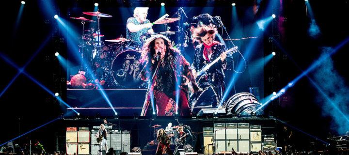 Aerosmith выступит в Москве в рамках турне к 50-летию группы