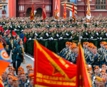 В параде Победы 9 мая в Москве примут участие 15 тысяч человек