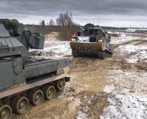 Зенитно-ракетный полк Кантемировской танковой дивизии отметил 77 лет со дня основания
