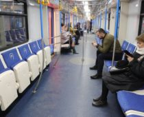 Пассажиропоток в столичном метро снизился на 40%