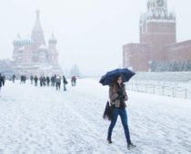 На Москву надвигается резкое похолодание