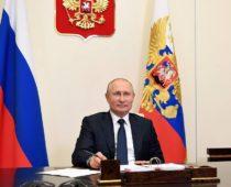 Владимир Путин поздравил россиян и соотечественников с Днём России