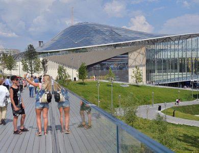 Столичный парк «Зарядье» планируется открыть 23 июня