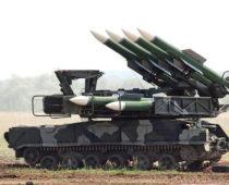 Расчеты ЗРК «Бук-М2» в Северной Осетии отразили «атаку» ударных дронов