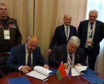 «Алмаз-Антей» подписал контракты с Минобороны Республики Беларусь на «Армии-2020»