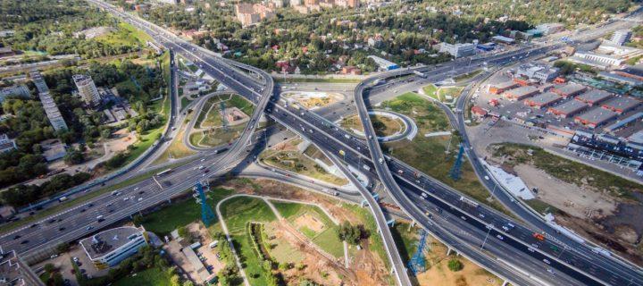 В Москве реконструировано 16 развязок на МКАД