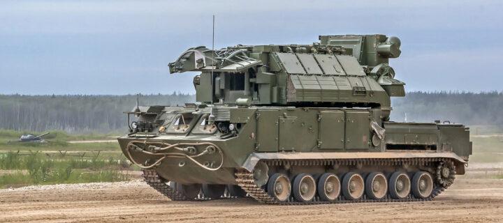 Зенитчики 58-й армии отбили условное воздушное нападение с помощью ЗРК «Тор-М2»