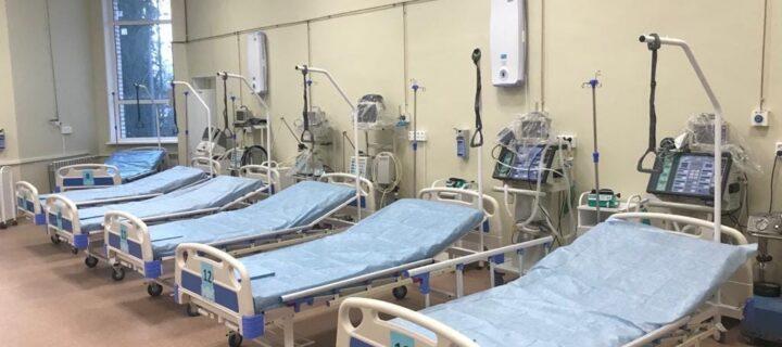 Воронежская БСМП №1 развернула еще 2 отделения для COVID-пациентов