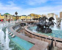 Сезон работы фонтанов в Москве продлен на 10 дней