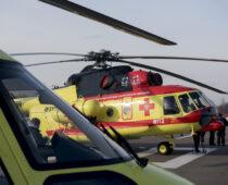Брянские медики получили вертолет для санавиации
