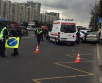 Смертность в ДТП на дорогах Москвы существенно снизилась