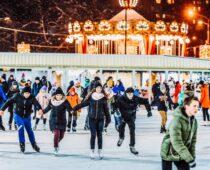 В Москве начали работать катки проекта «Московские сезоны»