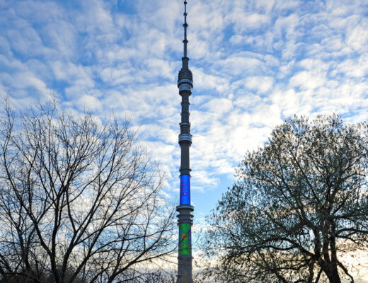Останкинская башня изменит подсветку в день студента