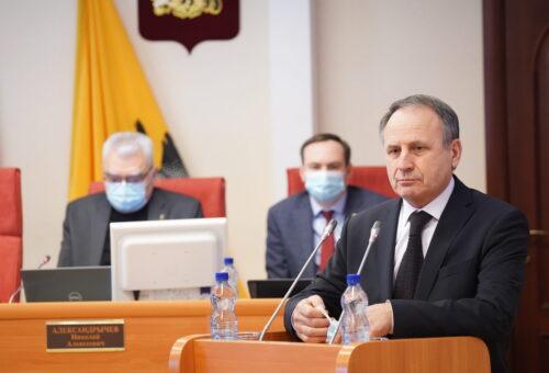 Ярославскую облдуму возглавил единоросс Боровицкий