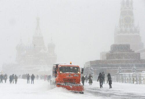 Новый снегопад ожидается в Москве
