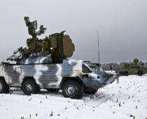 Расчеты ЗРК «Оса-АКМ» в Абхазии отбили воздушное нападение условного противника