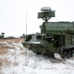 В Подмосковье проходит учение войсковой ПВО с участием ЗРК «Тор-М2»
