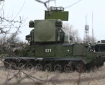 В Нижегородской области прошли учения зенитчиков танковой Краснознаменной армии